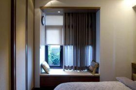 典雅舒适现代风格飘窗设计赏析