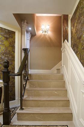 精致低奢欧式风格楼梯设计案例