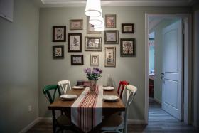 创意混搭灰色照片墙设计赏析