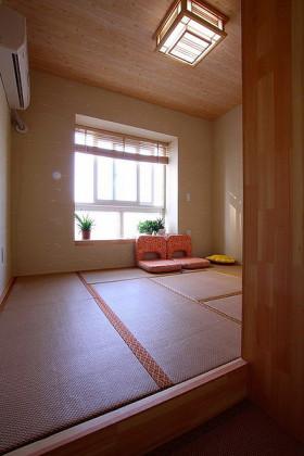 日式清爽简约混搭风格榻榻米装潢案例