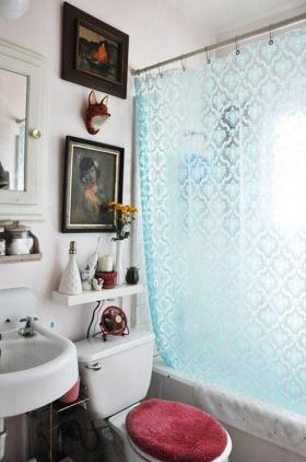 创意雅致时尚美式风格卫生间装潢案例