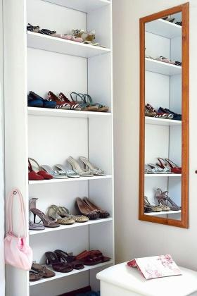 清爽实用简约风格鞋柜装修效果图