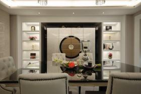白色精致低奢新古典餐厅欣赏