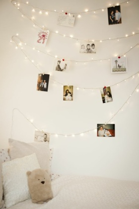 温馨创意混搭照片墙设计