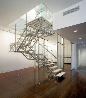 科技感创意时尚混搭风格楼梯图片