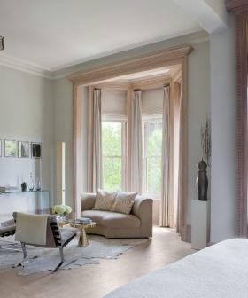 白色混搭风格客厅窗帘图片赏析