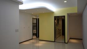 黄色简约风格背景墙装修赏析