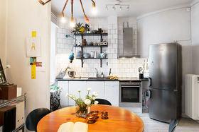 灰色混搭浪漫雅致风格厨房设计案例