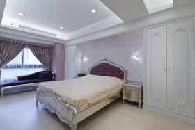 简欧风格浪漫白色卧室效果图设计