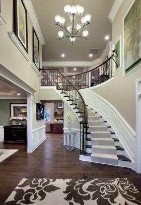 大气奢华欧式风格楼梯图片欣赏