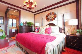 2016大创意东南亚风格红色卧室赏析