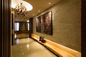 浪漫文艺雅致简欧风格背景墙设计案例
