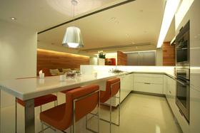 现代风格橙色时尚餐厅设计