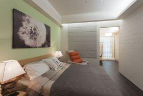 绿色宜家卧室装修设计