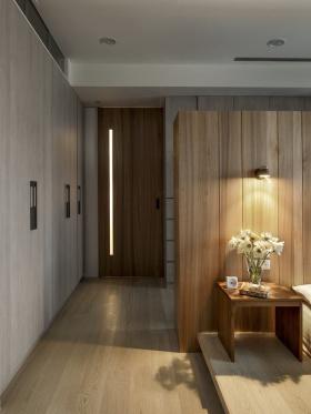 原木质朴日式简约风格收纳柜设计