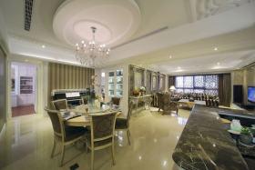 简洁新古典风格餐厅装修案例
