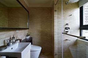 2016雅致新古典风格米色实用卫生间设计