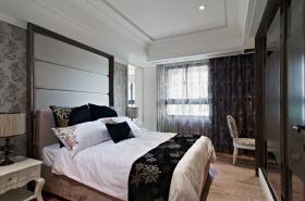 新古典白色卧室装修设计