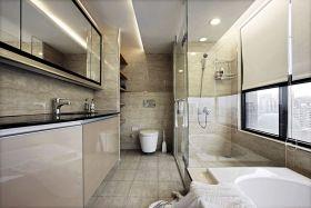 通透雅致白色欧式卫生间设计装潢