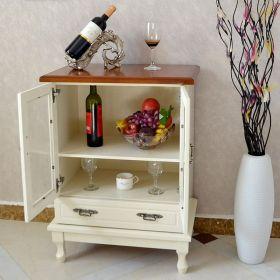 米色新古典风格酒柜设计图片