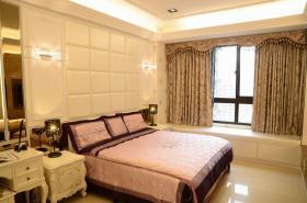 欧式风格温馨黄色卧室设计