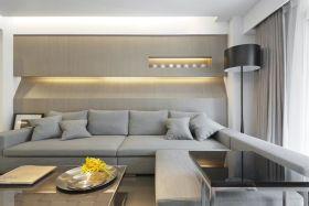 简约风格灰色休闲客厅美图赏析