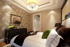 雅致新古典风格米色卧室效果图设计