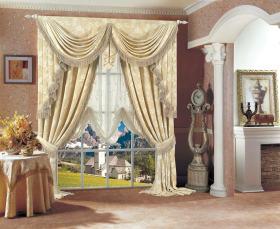 浪漫法式风格窗帘效果图赏析