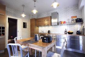 时尚精致创意混搭风格灰色厨房美图