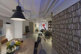 灰色现代风格餐厅装修