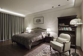 新古典灰色卧室美图欣赏