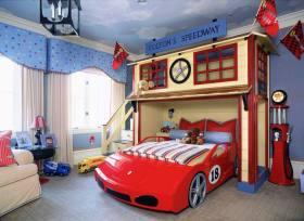 混搭时尚创意儿童房装修案例