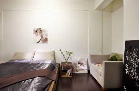 美式风格素雅卧室装修图