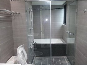 灰色混搭卫生间装饰设计图片