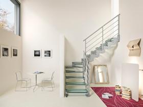 紧致摩登创意混搭风格楼梯设计欣赏