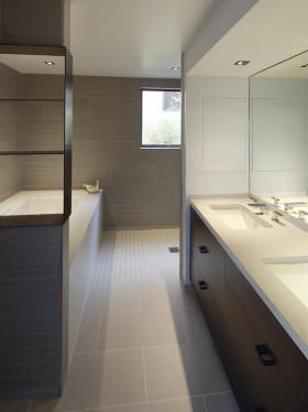 现代风格素雅卫生间装潢设计