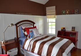 舒适童趣可爱美式风格儿童房效果图赏析