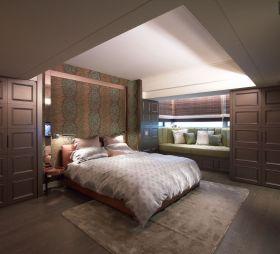 现代风格米色卧室飘窗赏析