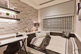 米色时尚简欧风格卧室设计图片