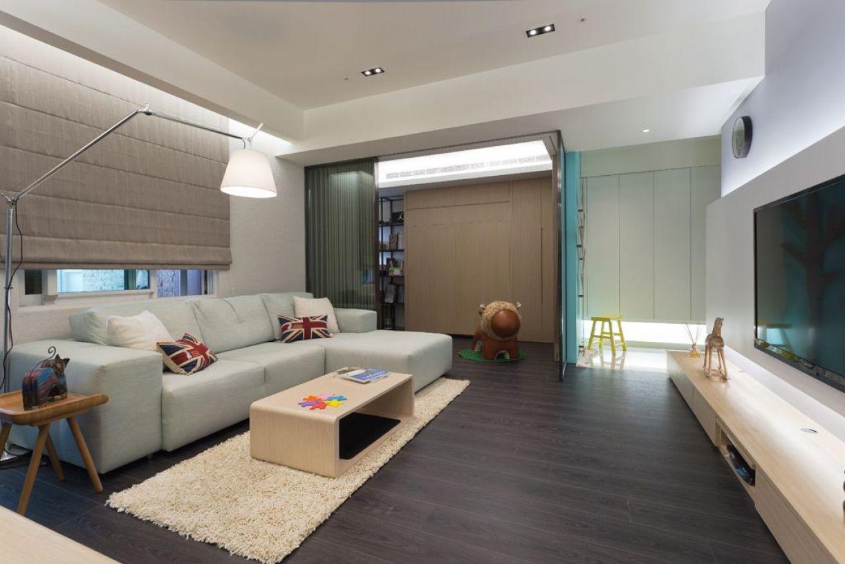 现代风格大气白色客厅美图赏析