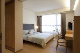简约风格米色休闲卧室设计案例