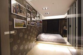 灰色精致时尚混搭风格照片墙图片赏析