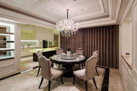 2016雅致时尚新古典风格餐厅装潢设计
