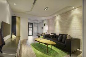 清爽简约风格客厅设计装潢