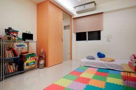 现代风格橙色儿童房装修效果图片