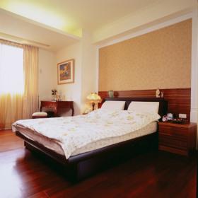 舒适温馨田园风格卧室装修案例