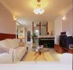 浪漫舒适田园风格米色客厅设计