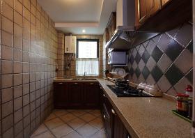 创意混搭个性风格厨房设计装潢
