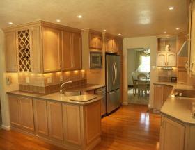 雅致时尚简欧风格厨房设计装潢
