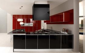 现代时尚个性凝练风格厨房橱柜欣赏